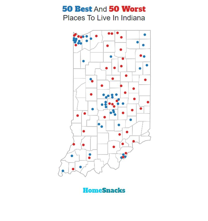 THE 10 BEST Places To Live In Indiana For 2020 - HomeSnacks