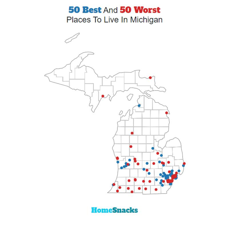 10 Best Places To Live In Michigan For 2019
