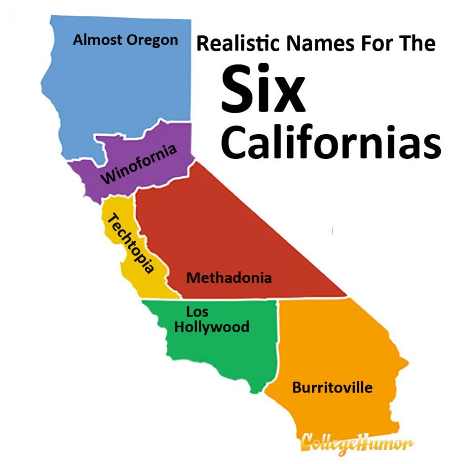 Map Of California Funny.22 Jokes About California That Are Actually Funny Homesnacks