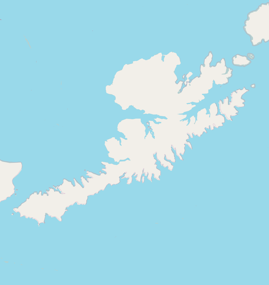 Location Map Unalaska