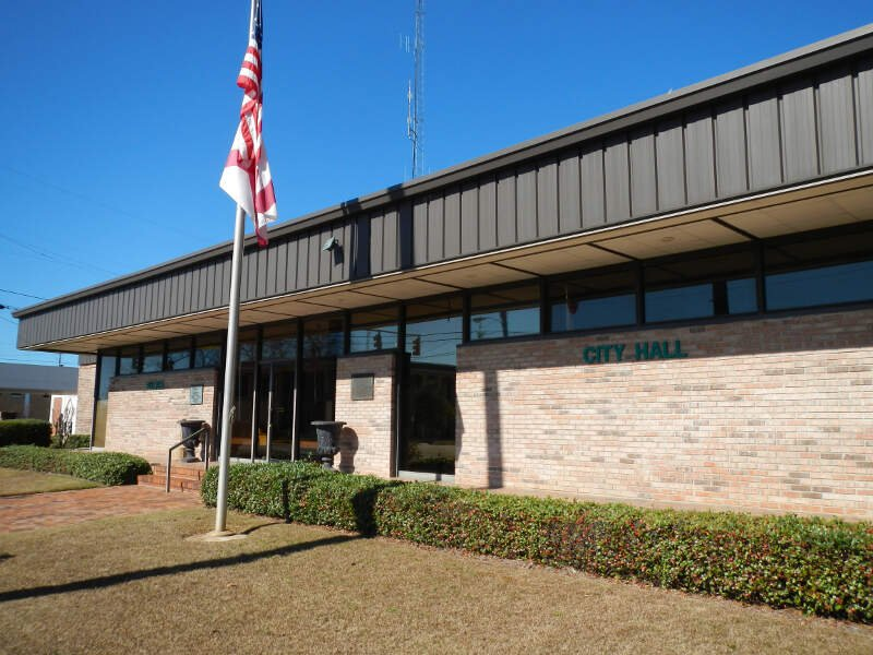 Abbeville Alabama City Hall And Police Department