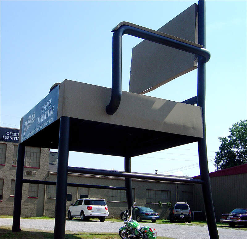 Worlds Largest Chairc Annistonc Alabama