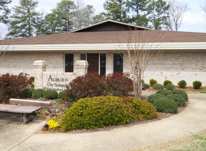 Auburn Alabama City Schools Administration Building