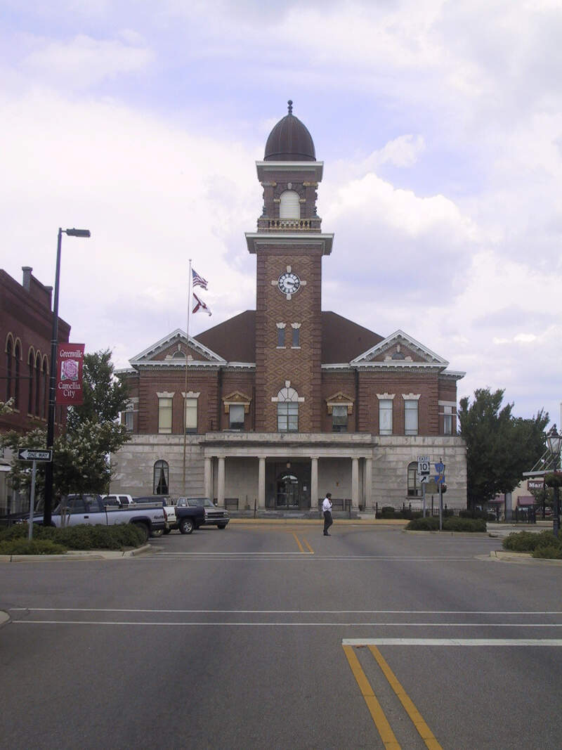 Greenville Al Butler Co Court House