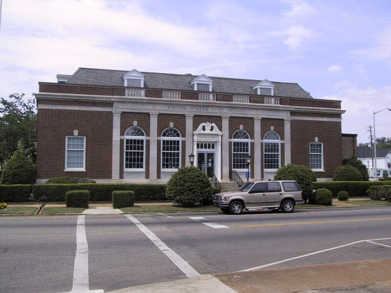 Greenville Al Post Office