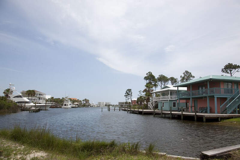 Gulf Shores Houses On Canal