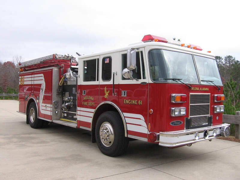 Helena Fire Department Engine