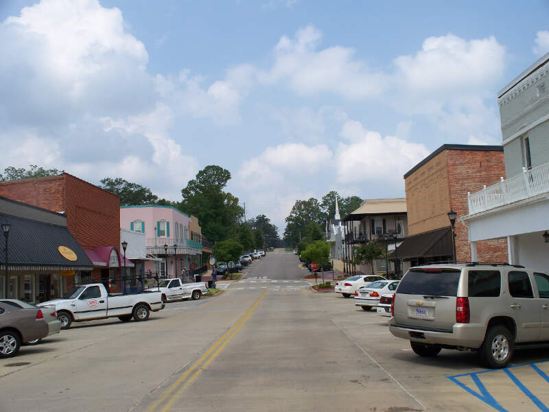 Downtown Thomasville Alabama
