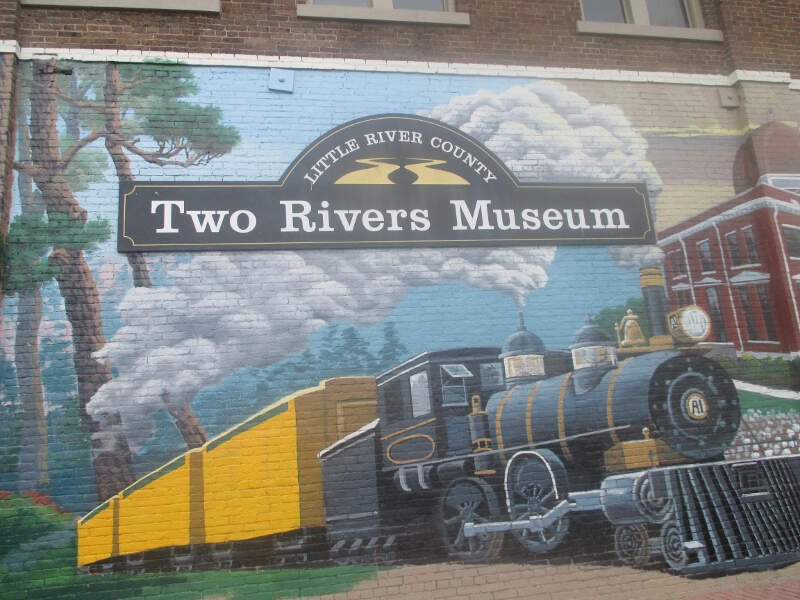 Entrance To Two Rivers Museum In Ashdownc Ar Img