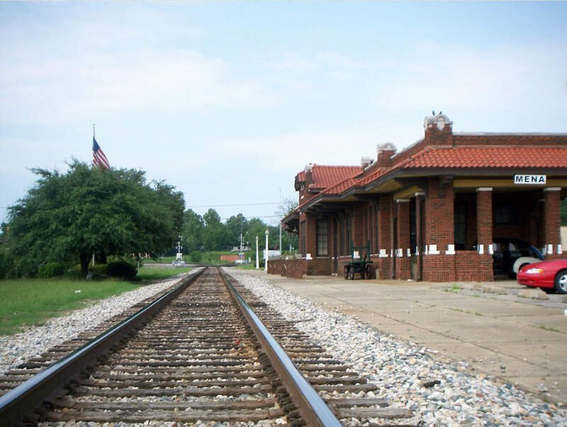Railroad Depotc Menac Arkansas