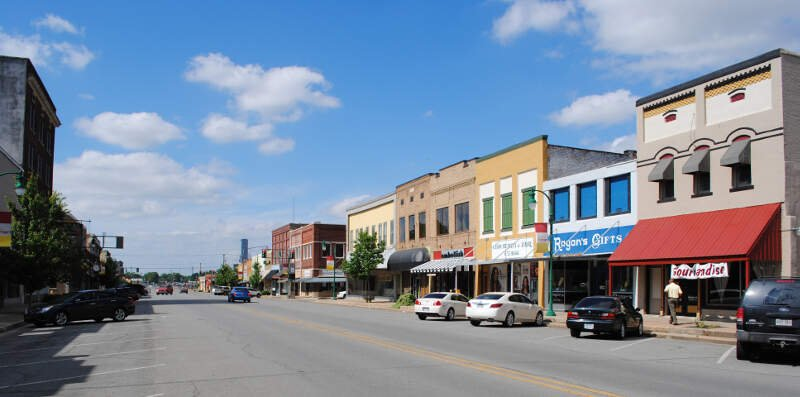 Downtown Stuttgart Arkansas
