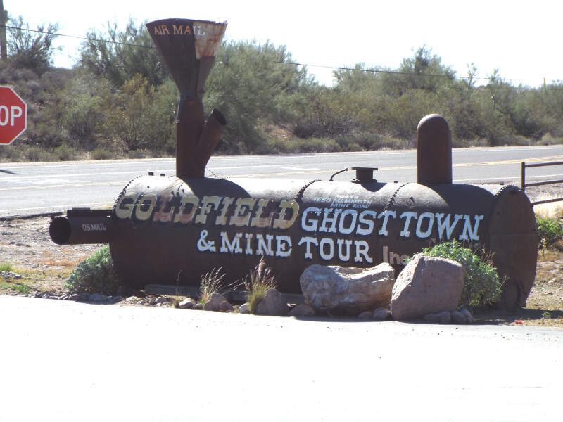 Apache Junction Goldfield Ghost Town