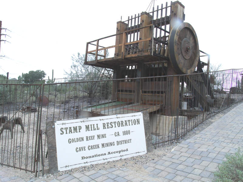 Cave Creek Golden Reef Stamp Mill