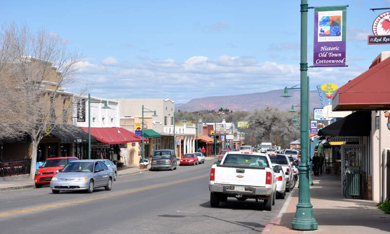 Commercial Historic District Cottonwoodc Arizona