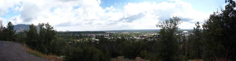 Flagstaff Az From Mars Hill