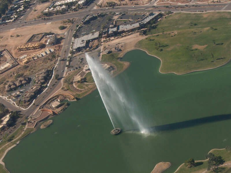 Over Fountain Hills