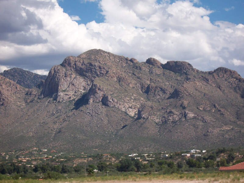Pusch Ridge From Oro Valley