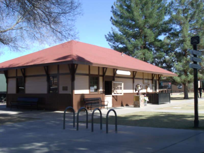 Sd Peoria Train Depot