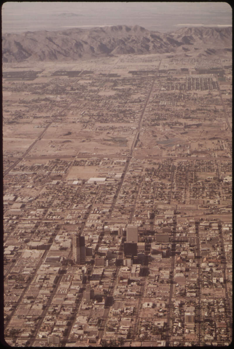 Aerial Of Phoenixc Arizona