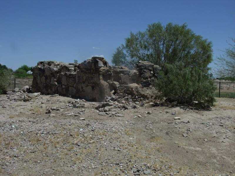 Queen Creek Desert Wells Stage Stop Ruins