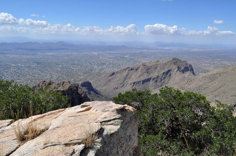 Northwest Metro Tucson From The Santa Catalina Mountains
