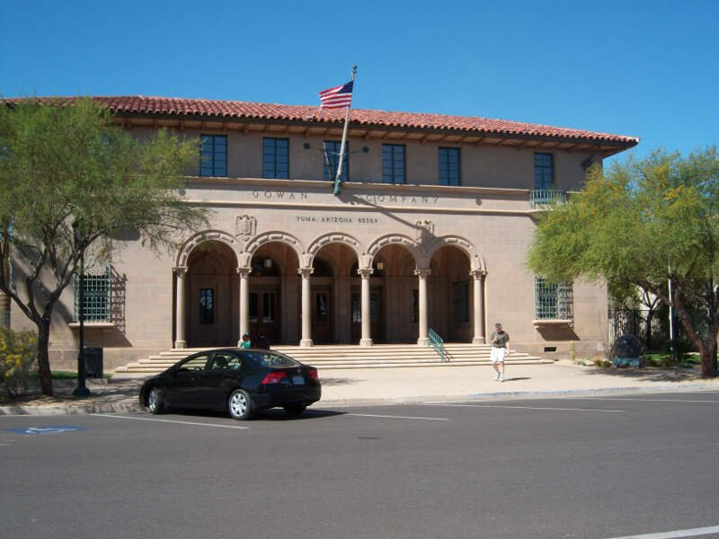 Gowan Company Building Yuma Arizona