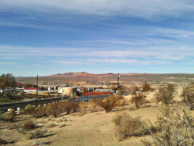 City View Of Barstowc California From Barstow Road