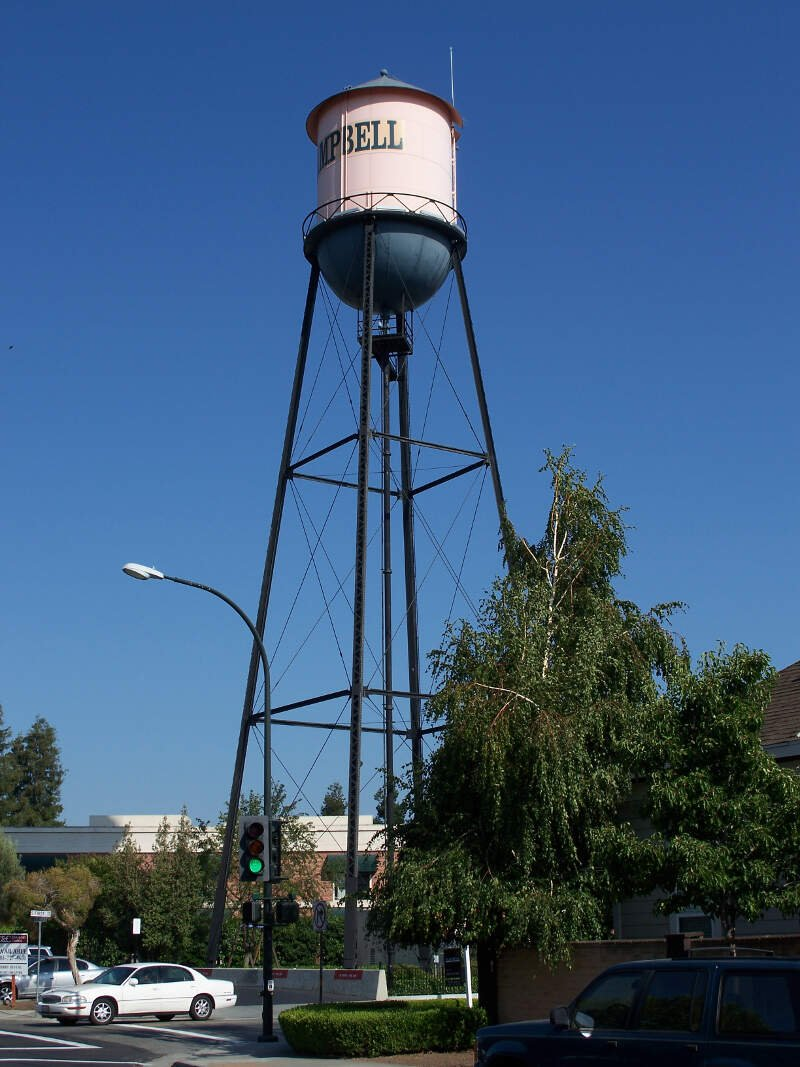 Usa Campbell Water Tower