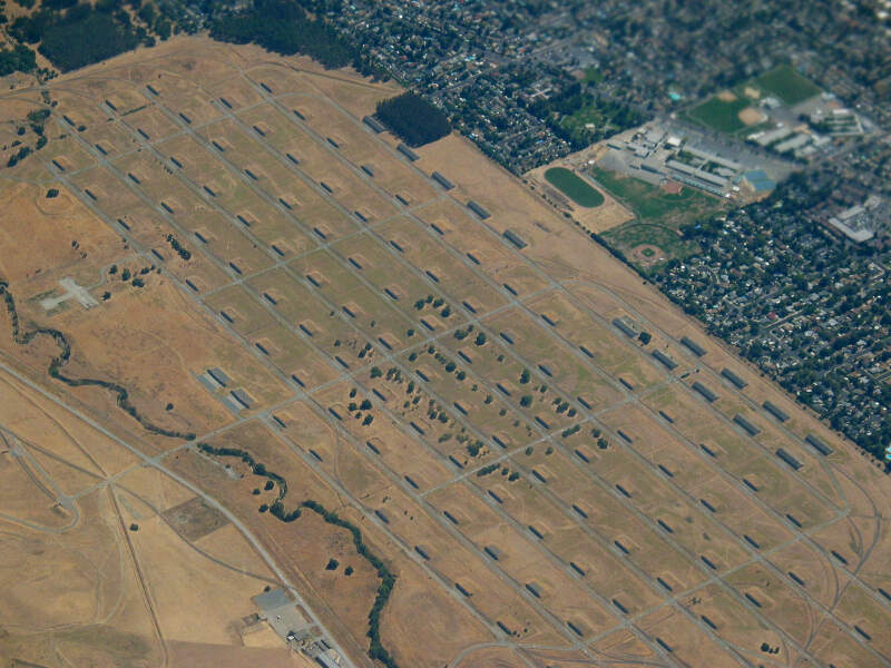 Ca Concord Naval Weapons Station Aerial Usa