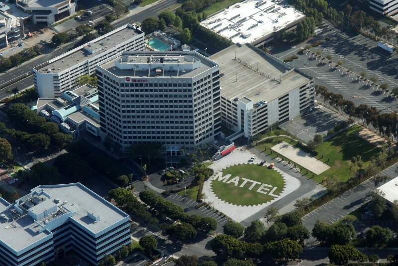Aerial Mattel Headquarters El Segundo May