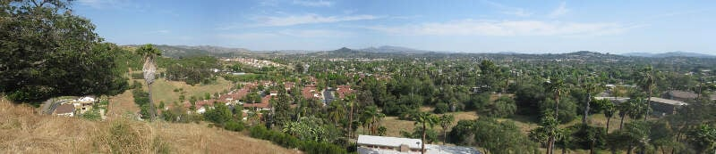 Looking South West Across Escondido