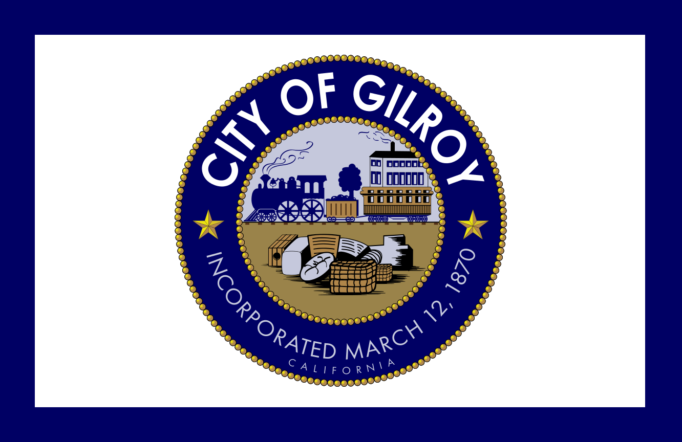 Flag Of Gilroyc California