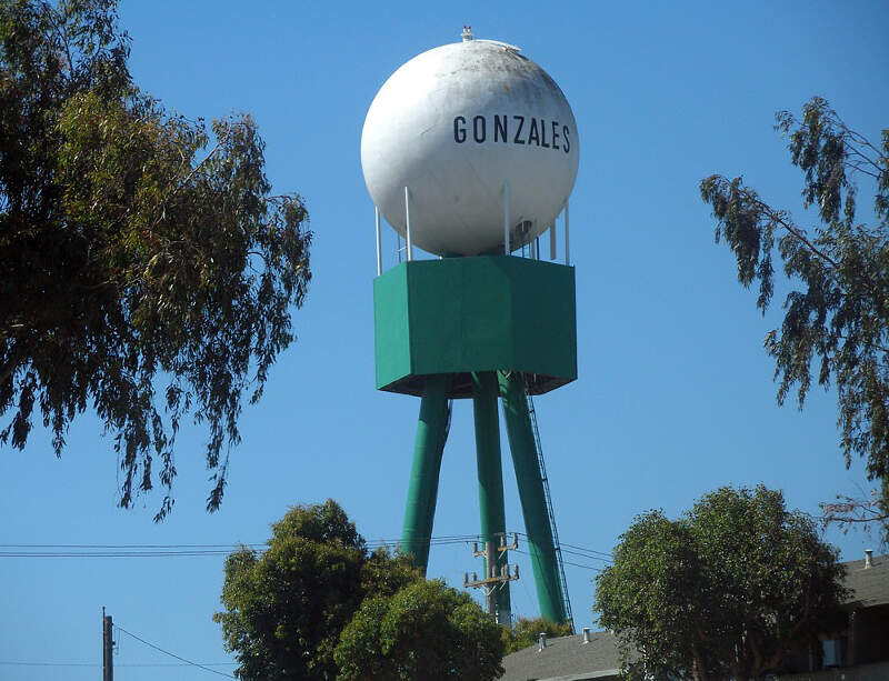 Gonzales Water Tower