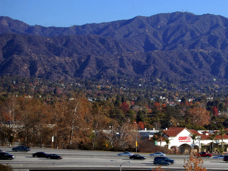 Monrovia Ca San Gabriel Mountains I