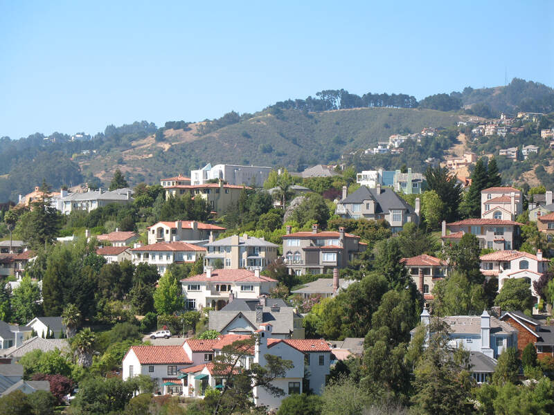 Upper Rockridge In Oaklandc Ca