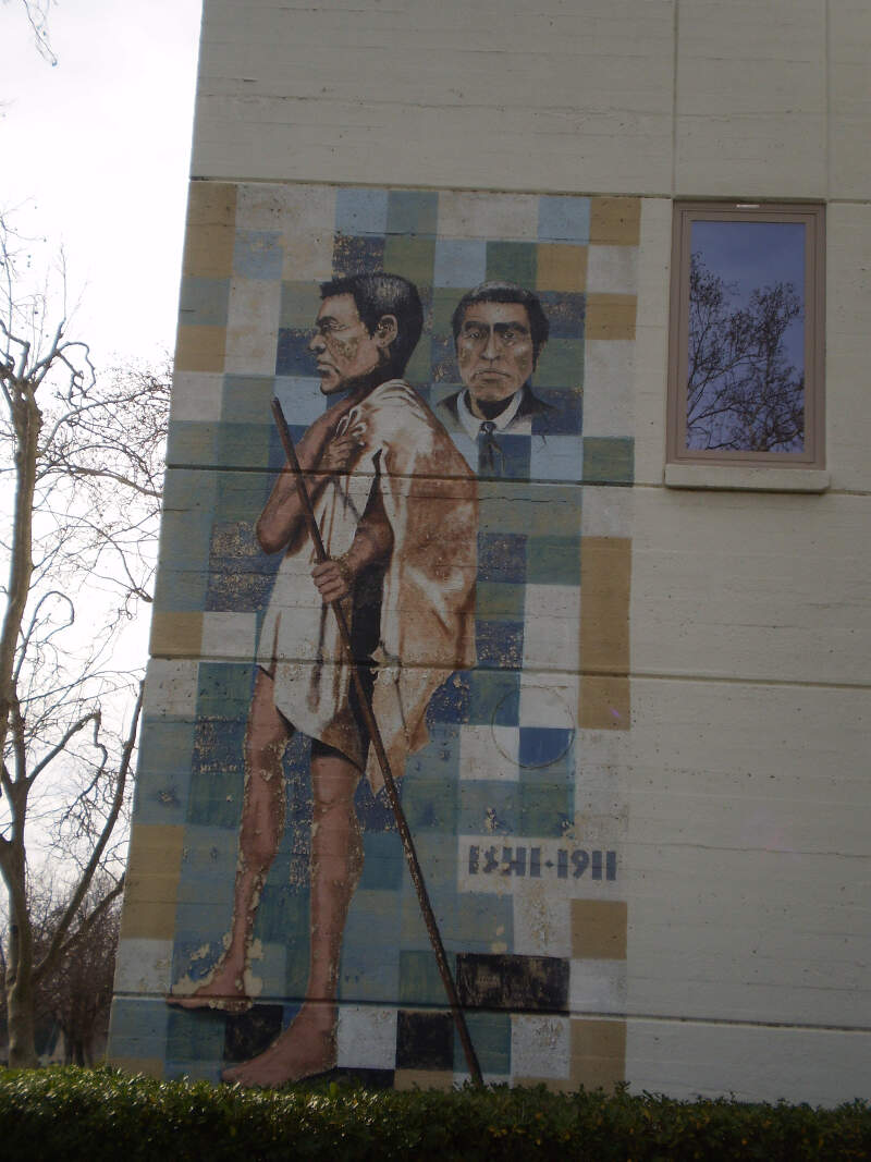 Oroville Ishi Mural