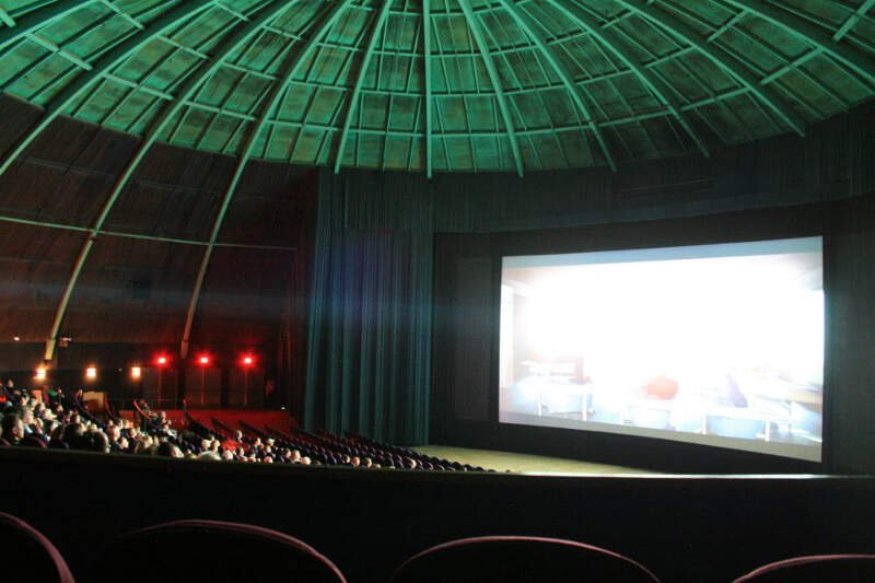 Dome Theater Interior  Pleasant Hillc California