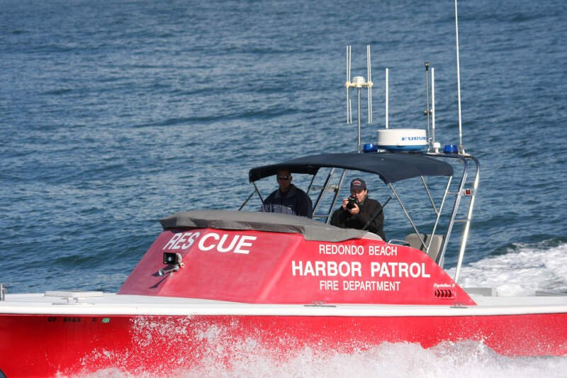 Redondo Beach Fire Department Boat