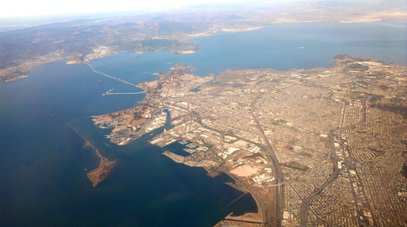 Richmond California Aerial