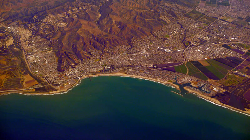 Ventura California Aerial Photo D Ramey Logan