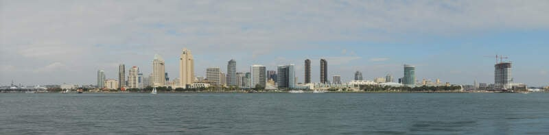 San Diego Skyline Day Jd