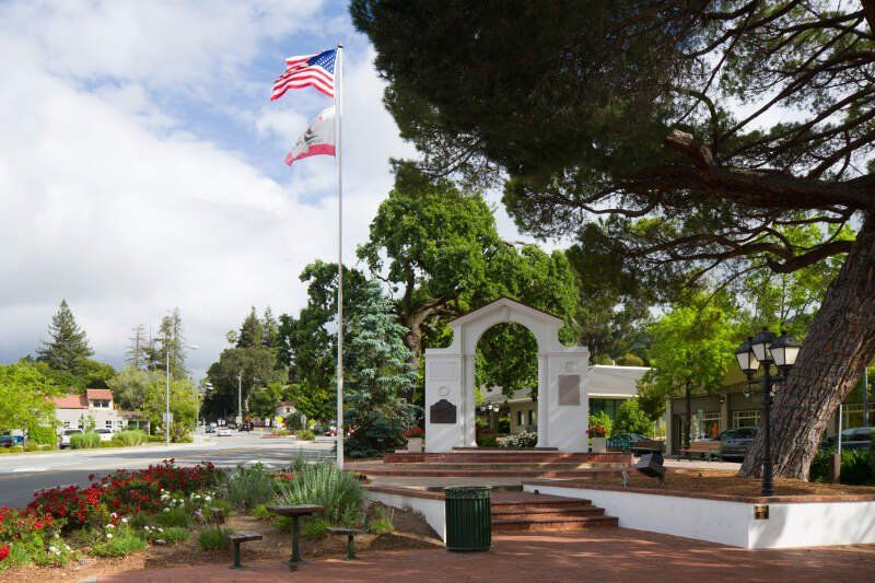 Memorial Arch Saratoga California