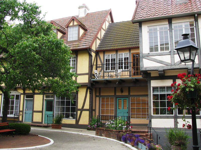 Solvang Timbered Houses