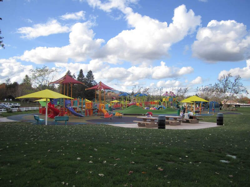 The All Abilities Playground At Heather Farm Park