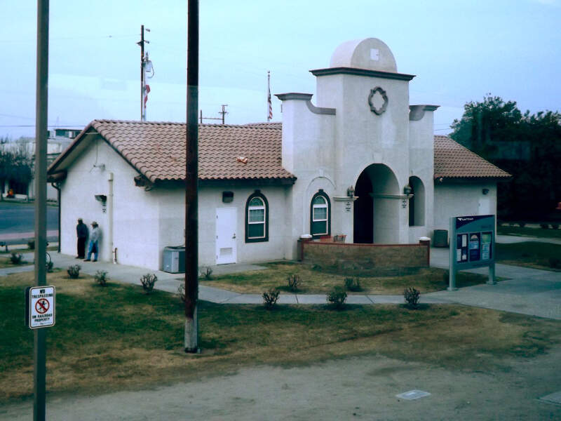 Wascoc Californiac Train Station