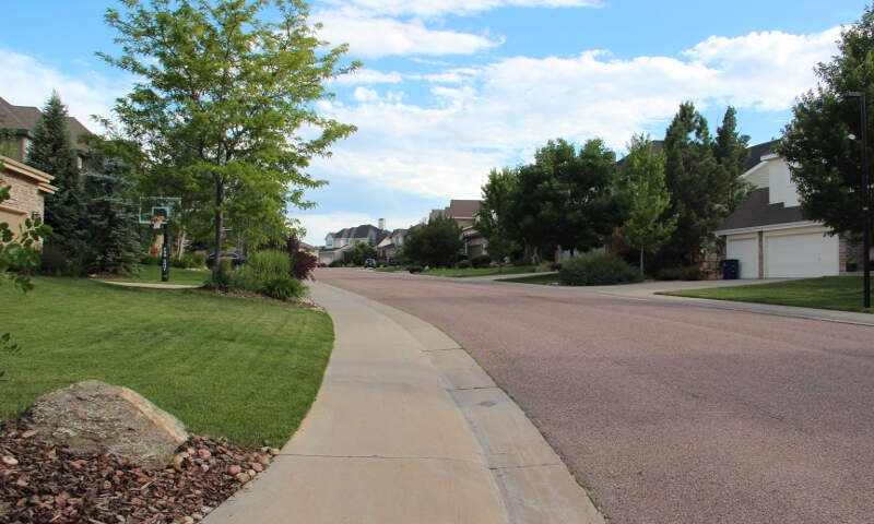 Castle Pinesc Colorado Neighborhood