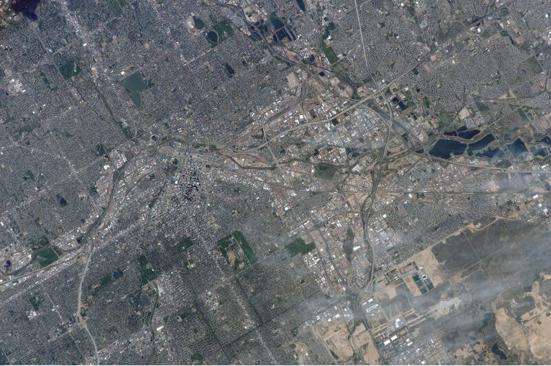 Denver Colorado From Space