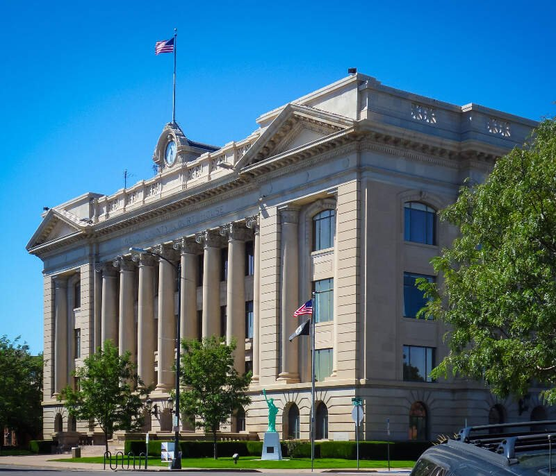 Greeleyc Colorado Courthouse
