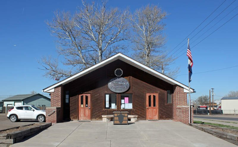 Hudsonc Colorado Town Hall