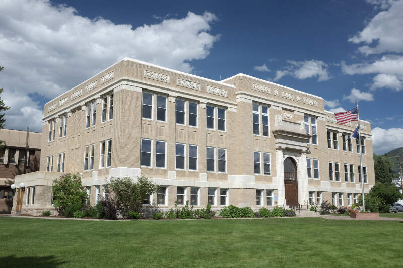 Routt County Courthousec Steamboat Springsc Colorado